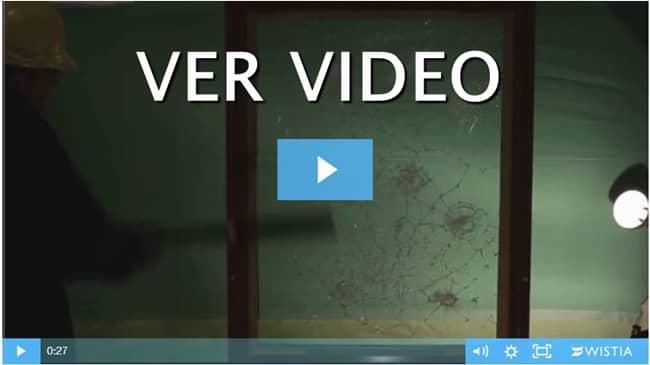 video laminas de seguridad en ventana